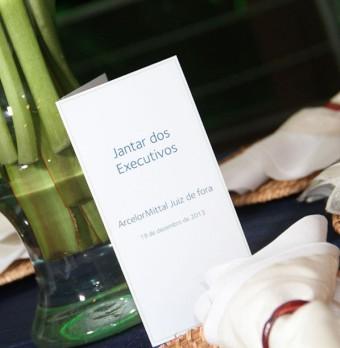 Evento Jantar dos Executivos - Arcelor Mittal