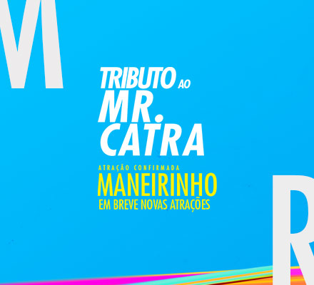 Evento TRIBUTO A MR. CATRA