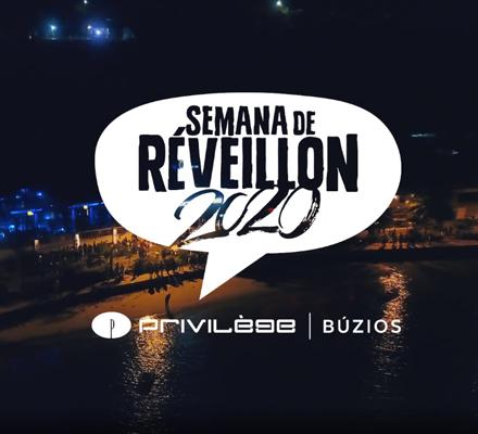 Evento SEMANA DE RÉVEILLON PRIVILÈGE BÚZIOS 2020