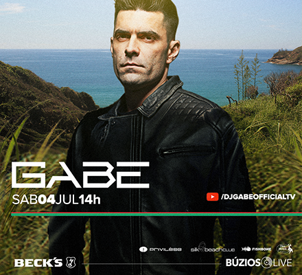 Evento BÚZIOS LIVE - GABE (Ponta da Lagoinha)